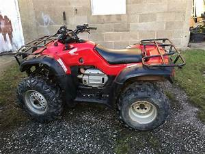 Honda Trx Fourtrax 400 4x4 Farm Quad