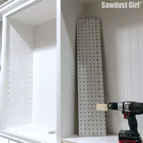 diy Shelf Drilling Jig   Sawdust Girl®