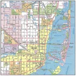 Miami Florida Map