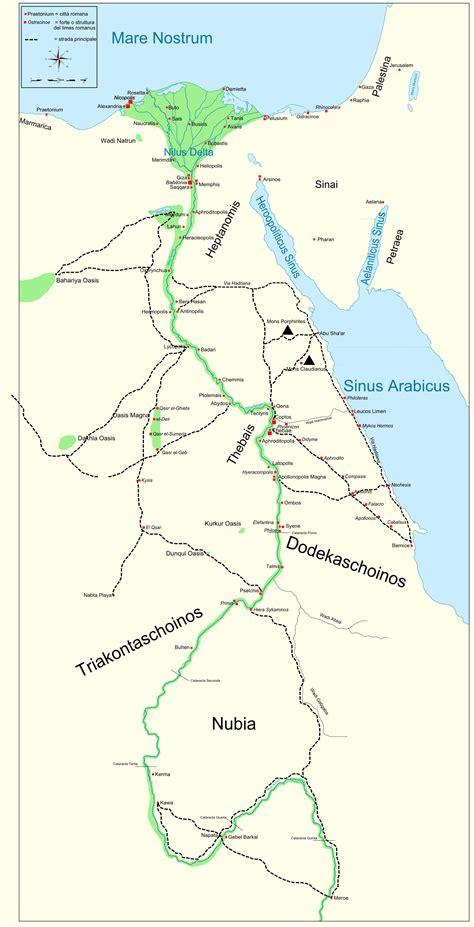 map  ancient egypt  kush