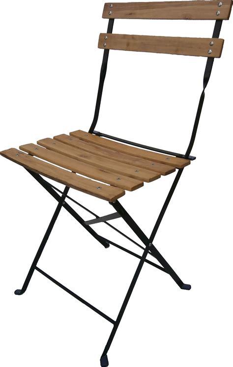chaise de jardin en bois pliante chaises table fauteuil bistro