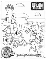 Coloring Pages Sideshow Template Bob Builder Dvd sketch template