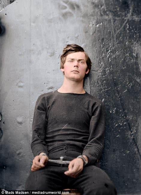 abraham lincoln in color killers in color images of abraham lincoln s assassins