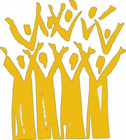 Choir Gold Clip Clipart Clker Cliparts