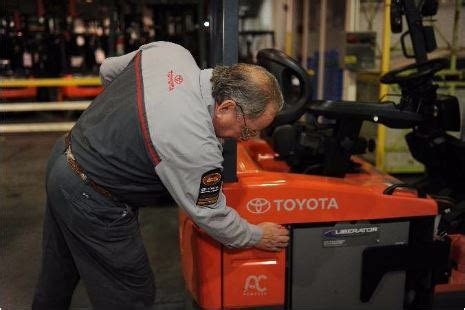 toyota forklift technician challenge toyota forklifts