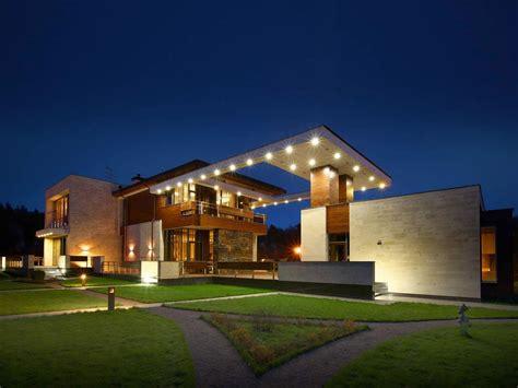 modern  mansion  moscow  fourth dimension caandesign architecture  home design blog