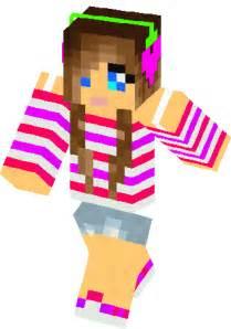 Pixel Gun 3D Minecraft Girl Skins