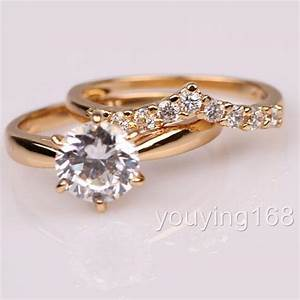 ebay With swarovski wedding ring sets