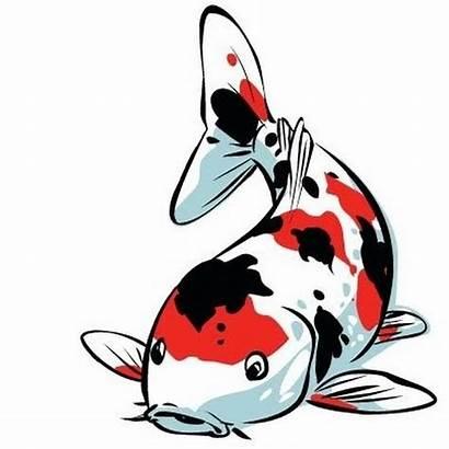 Koi Clipart Carp Fish Pond Cliparts Drawings