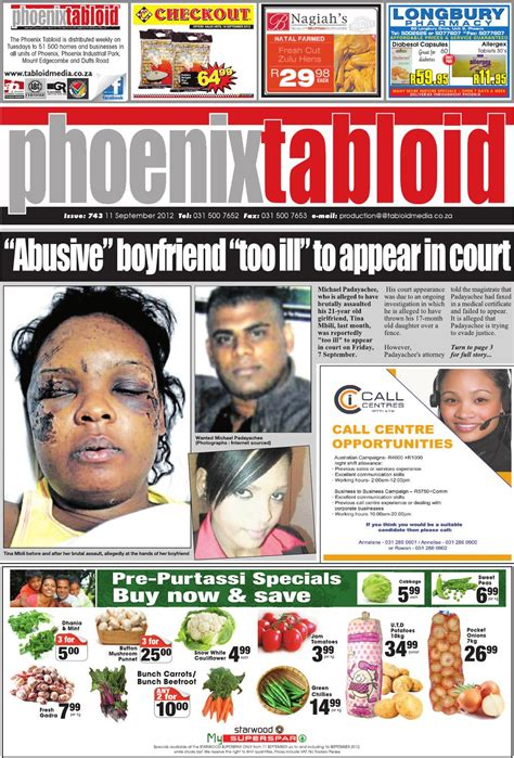 What attracts us to such outlandish stories? Phoenix Tabloid 11/09/12 by Tabloid Newspapers - Issuu