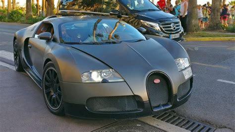 Matte Grey And Black Bugatti Veyron 16.4 !
