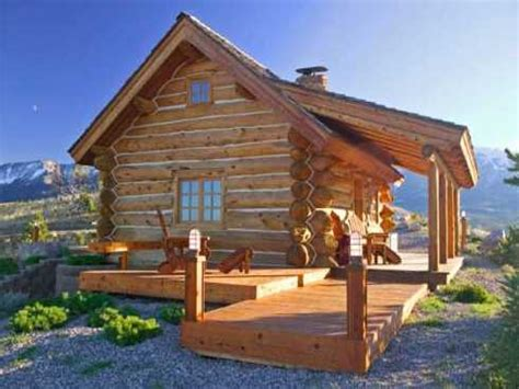 Log Cabin Kits Small Log Cabin Homes Plans, Small Mountain