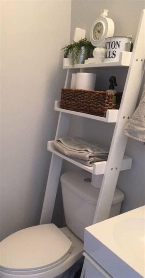 toilet leaning ladder shelf   order decor