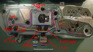 1986 Chevy K5 Blazer Instrument Panel Wiring    Mechanicadvice