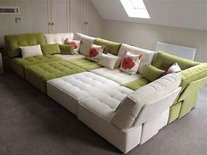 Beautiful movie pit sectional sofa sectional sofas for Movie pit sectional sofa
