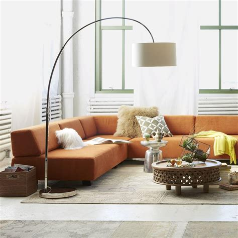 Overarching Floor L Gold by West Elm Overarching Floor L Cernel Designs