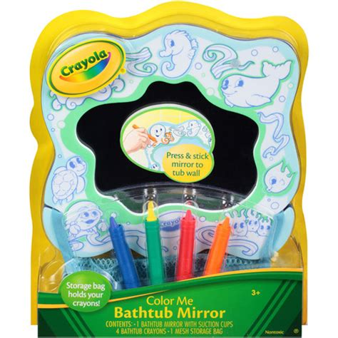 crayola color me bathtub mirror walmart com