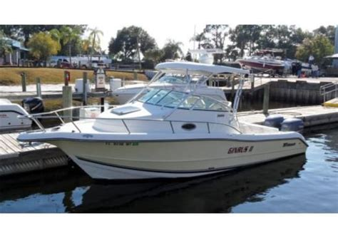 20 Foot Boat With Cabin by Aquasport Boat 26 Foot Walk Around 2005 26 Ft Triton