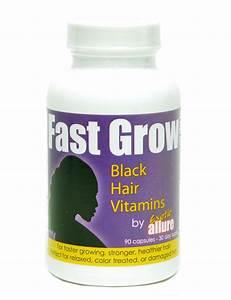black hair growth vitamins