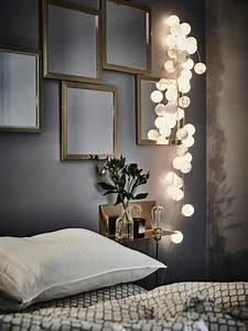 Guirlande Deco Chambre : 25 best ideas about guirlande lumineuse chambre sur pinterest deco cocooning guirlande de ~ Teatrodelosmanantiales.com Idées de Décoration
