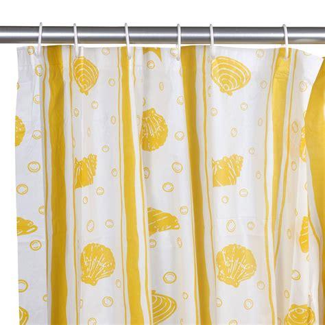 12 hook patterned peva shower curtain bathroom plain