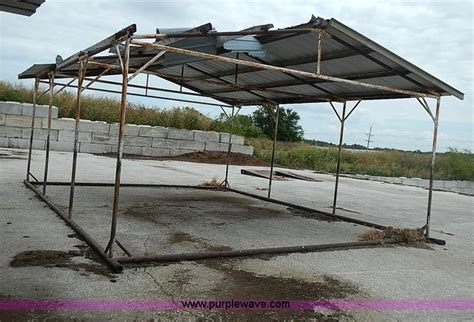 portable shade sheds 3 portable shade sheds no reserve auction on wednesday