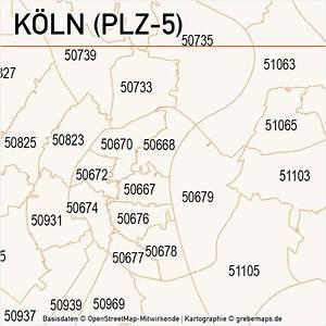 Möbelhäuser Köln Und Umgebung : k ln postleitzahlen karte plz 5 vektor grebemaps kartographie ~ Bigdaddyawards.com Haus und Dekorationen