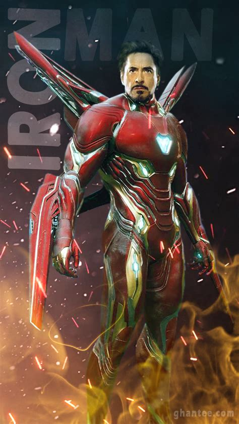 Endgame Iron Hd Wallpaper For Mobile by Iron Hd Mobile Wallpaper Ghantee