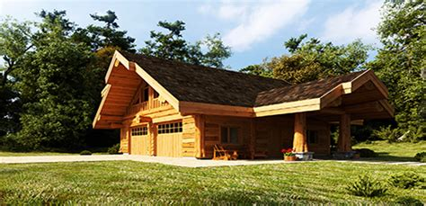 cottage home plans small log garages and log barns floor plans bc canada