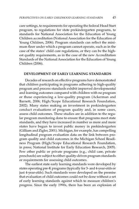 study examples early childhood education 292 | 45