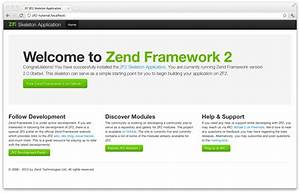 Getting Started  A Skeleton Application  U2014 Zend Framework 2