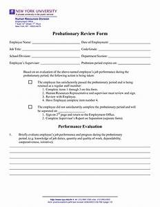 employee probation period form 51 images employee With employment probation letter template