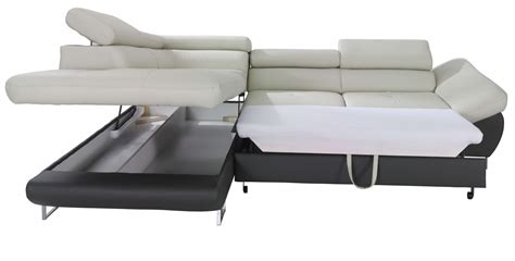 sectional sleeper sofa with storage fabio sectional sofa sleeper with storage creative furniture