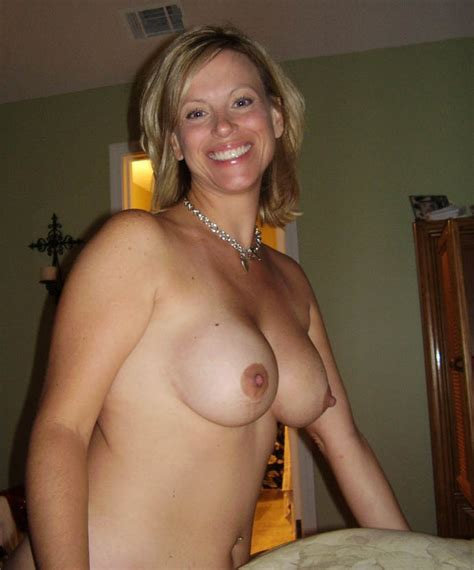 Mature Wife Braless