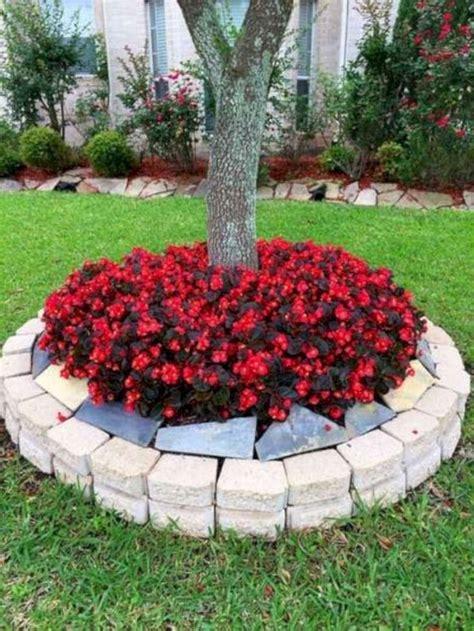 pretty flower beds   frontyard ideas