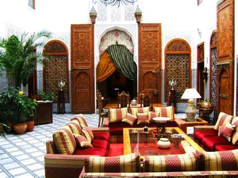 rideaux chambres à coucher salon marocain beldi style déco salon marocain