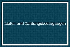 Liefer Und Zahlungsbedingungen : rechtliches ~ A.2002-acura-tl-radio.info Haus und Dekorationen
