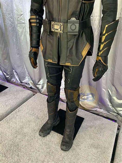 Avengers Endgame Best Look Yet Hawkeye Ronin Costume