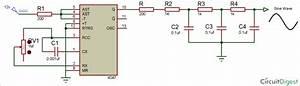 Square Wave Generator Circuit Using 4047 Ic