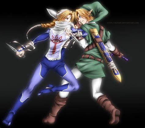 Legend Of Zelda Botw Wallpaper Sheik And Link The Legend Of Zelda Pinterest