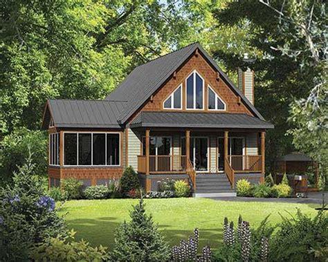 classic mountain cabin pm architectural designs