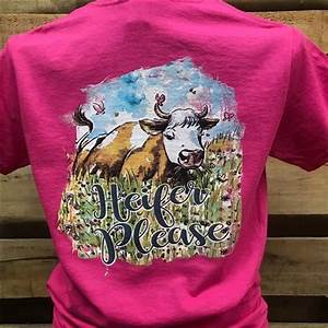 breast size chart by country southern chics heifer please cow girlie bright t shirt
