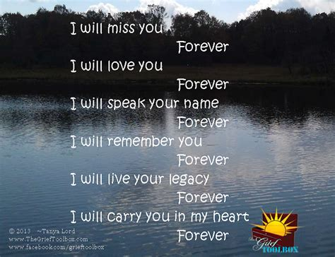 poem heart forever carry miss grief thegrieftoolbox son lord friends artwork missing birthday dad toolbox remember mom heaven think