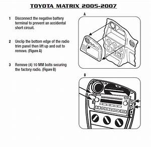 2005 Toyota Matrix Installation Parts  Harness  Wires