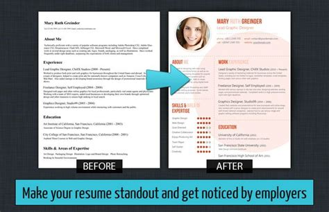How To Make My Resume Title Stand Out by Make Your Resume Standout Resume Baker Custom Resume
