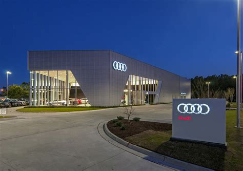 audi dealership wilmington firm awarded for design on audi cape fear