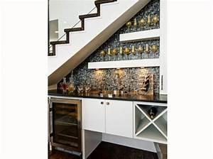 amenager lespace sous un escalier viving With amenagement cuisine espace reduit