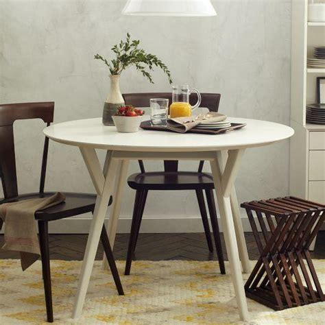 west elm mid century table parker mid century round dining table west elm