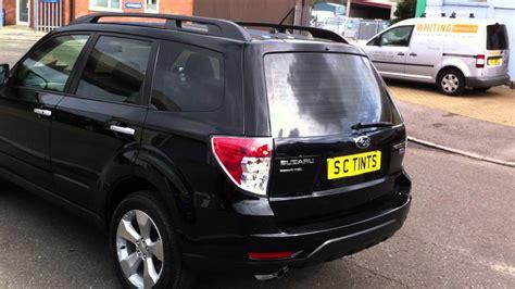 Subaru Forester With Medium Tints On All Rear Windows