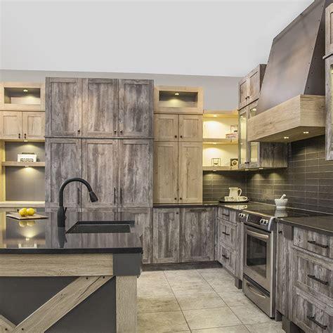 armoire de cuisine rustique armoires de cuisine au style rustique avec mélamine